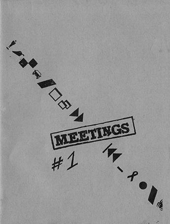 ZINES_Meetings