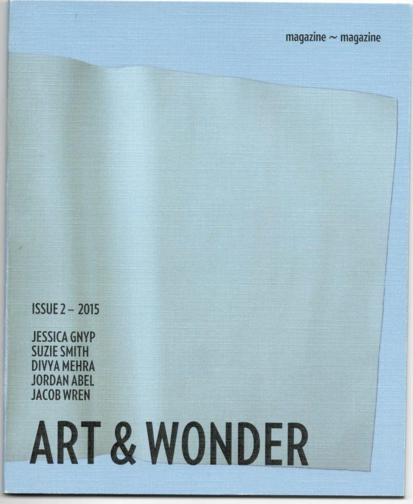 ZINES_Art and Wonder 2