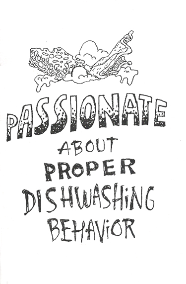 ZINES_Passionate about Dishwashing