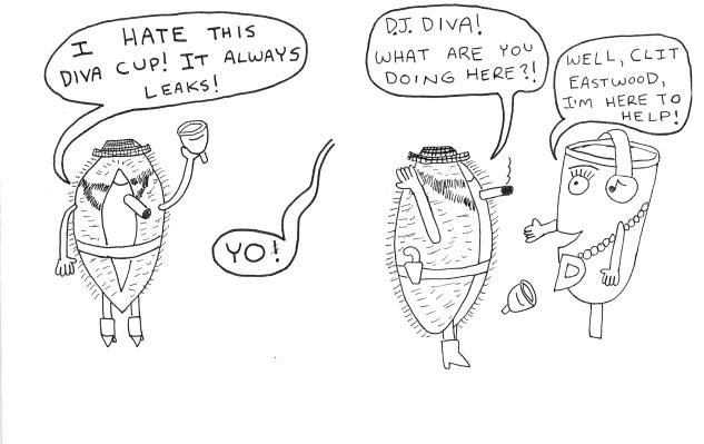 Zine Review That Darn Diva Cup Broken Pencil Magazine