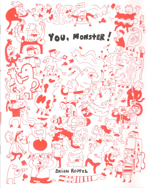 ZINES_You, Monster (Cam Gordon)
