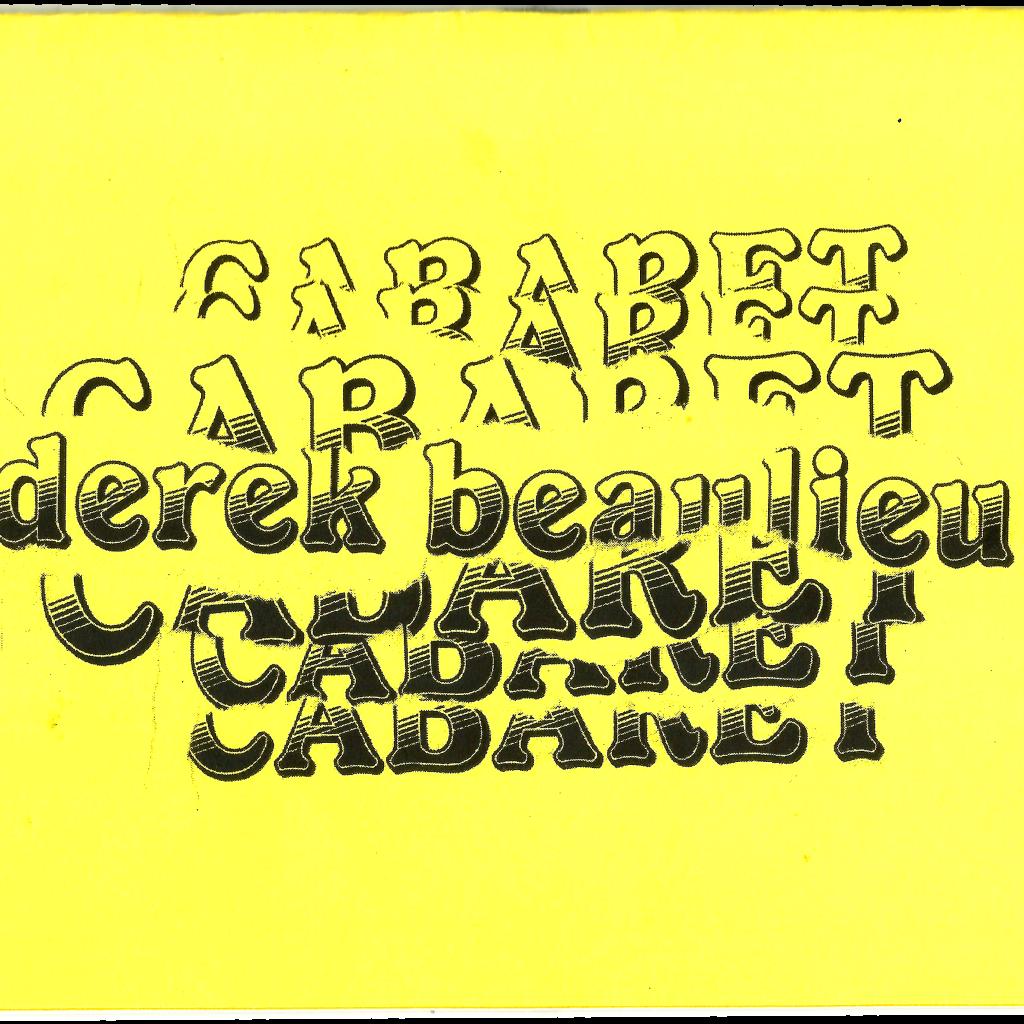 ZINES_cabaret cover